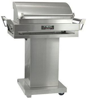 TEC G-Sport gas Grill on Pedestal Base