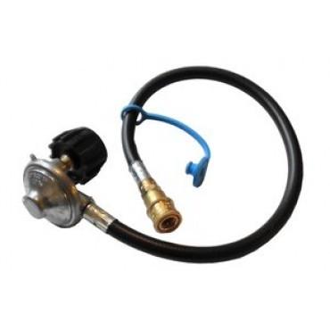 TEC G4000FR Propane Regulator for 20Lb. Cylinder