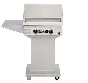 TEC Sterling II FR Propane Grill, Pedestal Base & One Side Shelf