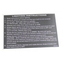 TEC Sterling III Lighting Instructions