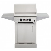 TEC Sterling II FR Propane Grill, Cabinet Base & Two Side Shelves