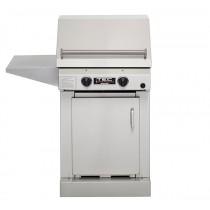 TEC Sterling II FR Propane Grill, Cabinet Base & One Side Shelf