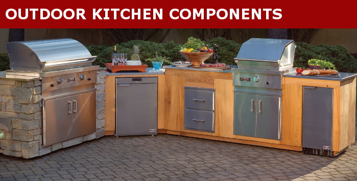 Outdoor Kitchen Components