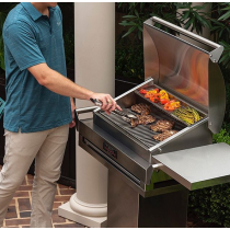 TEC G-Sport Gas Grill Cooking
