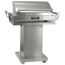TEC G-Sport FR Gas Grill, Pedestal Base & Warming Rack